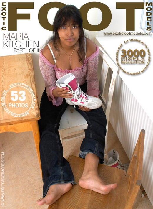 Maria - `Kitchen - Part 1` - for EXOTICFOOTMODELS