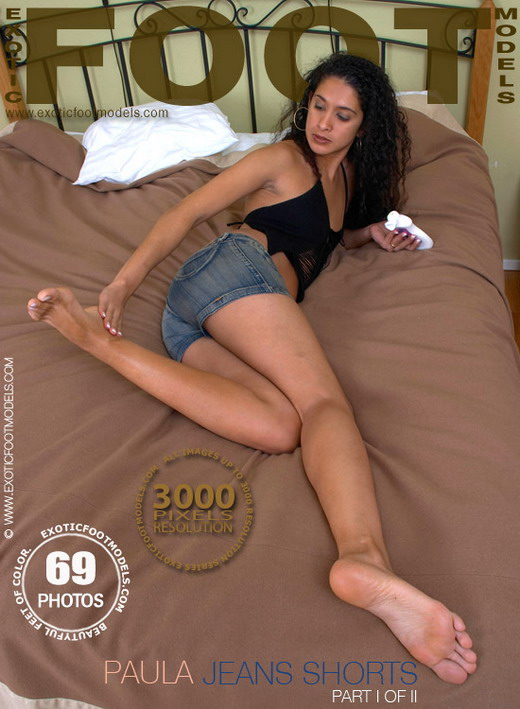 Paula - `Jeans Shorts - Part 1` - for EXOTICFOOTMODELS