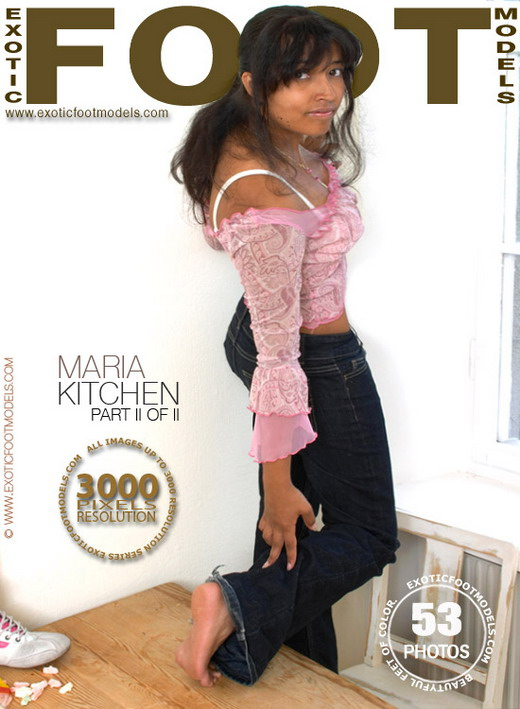 Maria - `Kitchen - Part 2` - for EXOTICFOOTMODELS