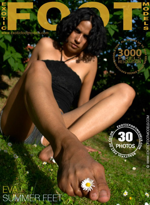 Eva - `Summer Feet` - for EXOTICFOOTMODELS