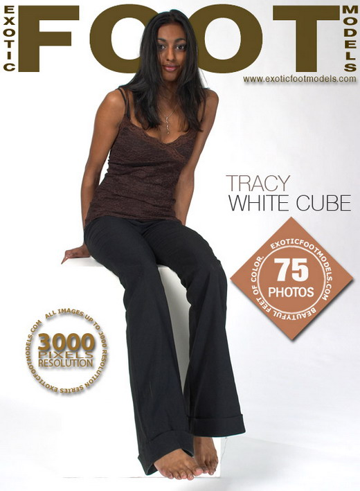 Tracy - `White Cube` - for EXOTICFOOTMODELS