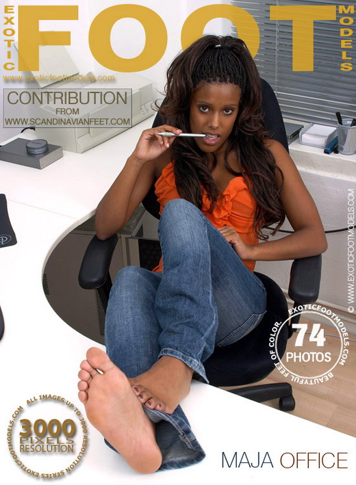 Maja - `Office` - for EXOTICFOOTMODELS