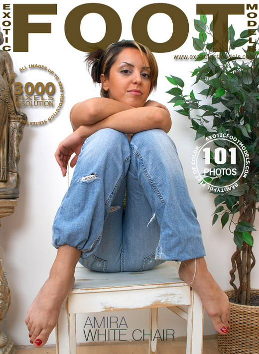 Amira - `White Chair` - for EXOTICFOOTMODELS