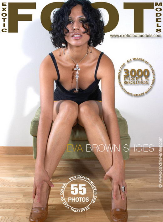 Eva - `Brown Shoes` - for EXOTICFOOTMODELS