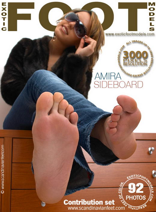 Amira - `Sideboard` - for EXOTICFOOTMODELS