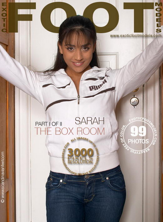 Sarah - `The Box Room - Part 1` - for EXOTICFOOTMODELS
