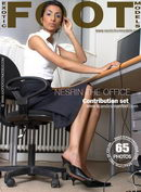Nesrin in The Office gallery from EXOTICFOOTMODELS