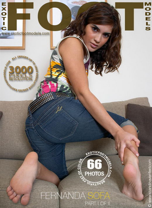 Fernanda - `Sofa - Part 1` - for EXOTICFOOTMODELS