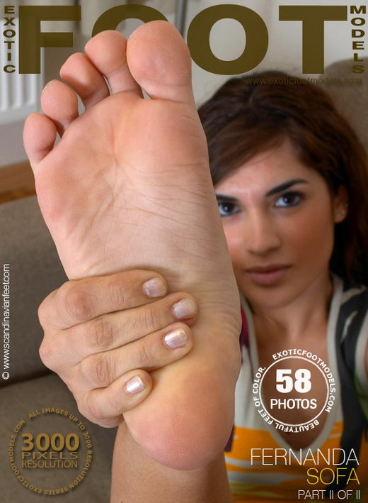 Fernanda - `Sofa - Part 2` - for EXOTICFOOTMODELS