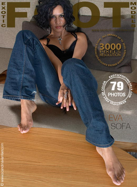 Eva - `Sofa` - for EXOTICFOOTMODELS