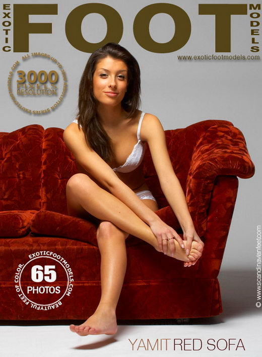 Yamit - `Red Sofa` - for EXOTICFOOTMODELS