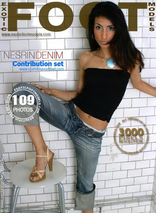Nesrin - `Denim` - for EXOTICFOOTMODELS