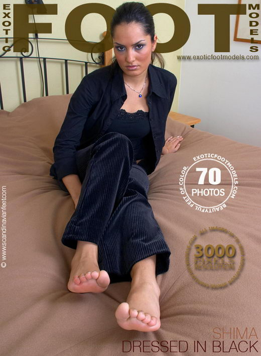 Shima - `Dressed In Black` - for EXOTICFOOTMODELS