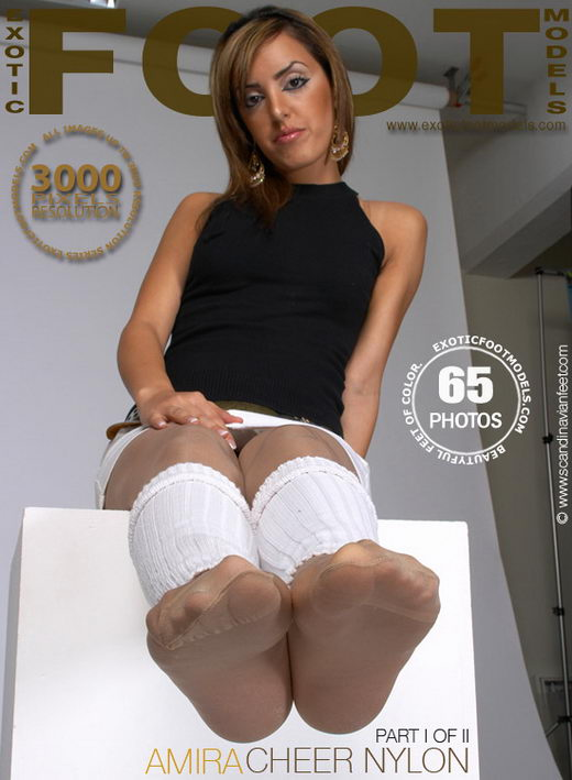 Amira - `Cheer Nylon - Part 1` - for EXOTICFOOTMODELS