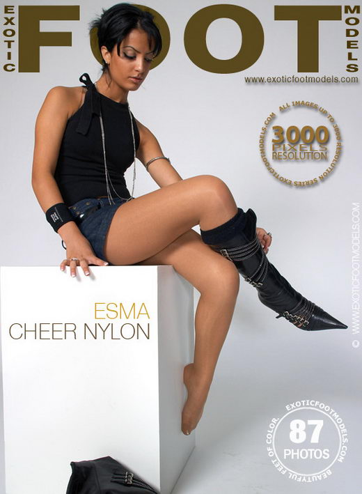 Esma - `Cheer Nylon` - for EXOTICFOOTMODELS
