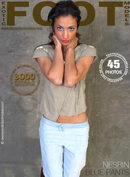 Nesrin in Blue Pants gallery from EXOTICFOOTMODELS