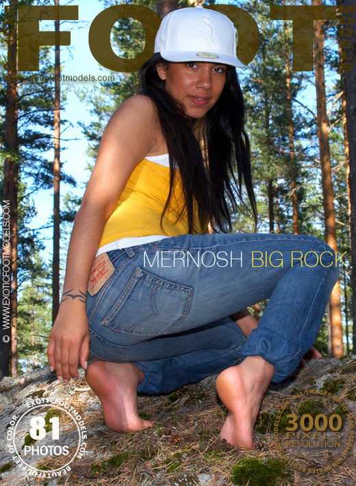 Mernosh - `Big Rock` - for EXOTICFOOTMODELS