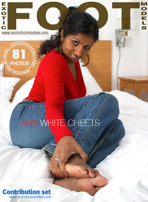 Ann - `White Cheets` - for EXOTICFOOTMODELS