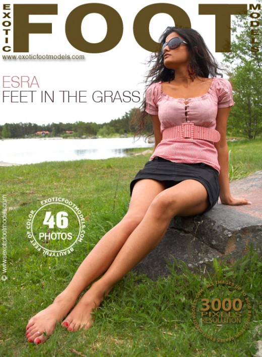 Esra - `Feet In The Grass` - for EXOTICFOOTMODELS
