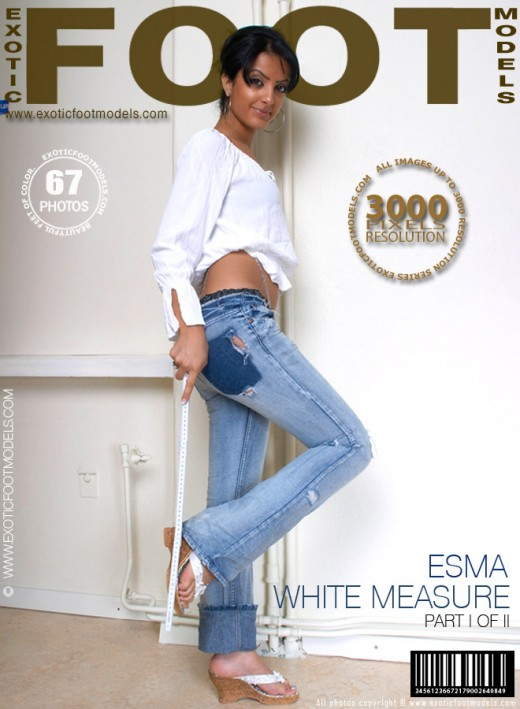 Esma - `#137 - White Measure - Part 1` - for EXOTICFOOTMODELS