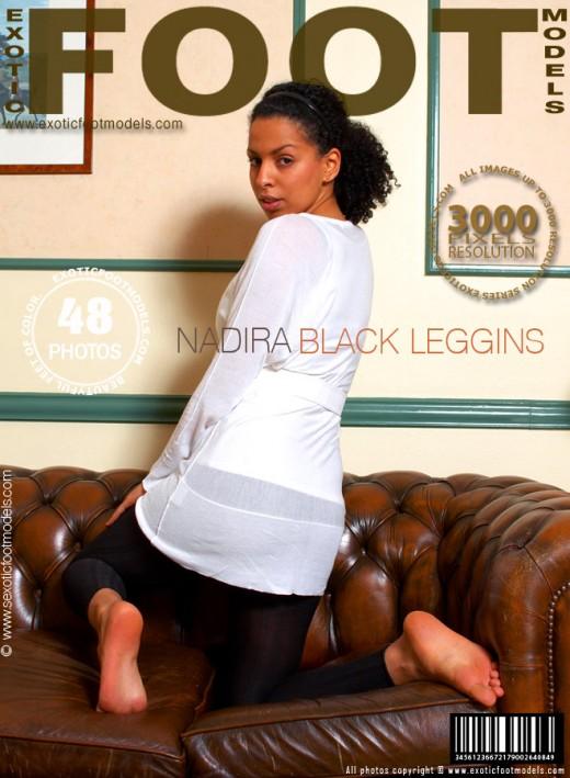 Nadira - `Black Leggins` - for EXOTICFOOTMODELS