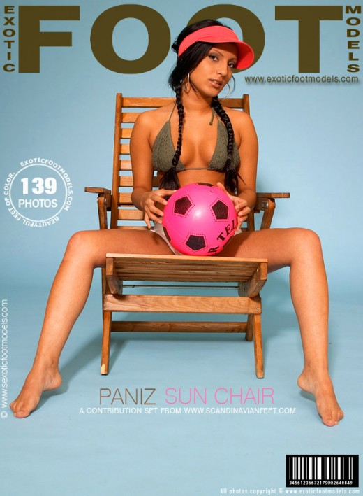 Paniz - `Sun Chair` - for EXOTICFOOTMODELS