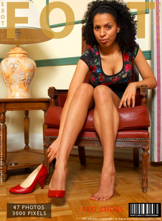 Nadira - `Red Shoes` - for EXOTICFOOTMODELS