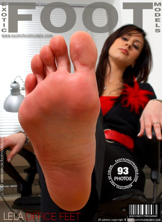 Lela - `Office Feet` - for EXOTICFOOTMODELS