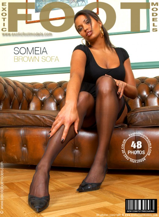 Someia - `Brown Sofa` - for EXOTICFOOTMODELS