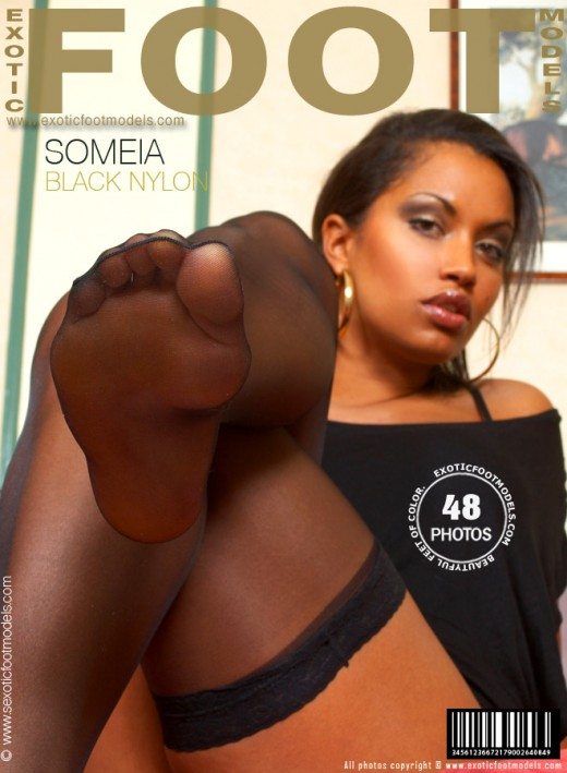Someia - `Black Nylon` - for EXOTICFOOTMODELS