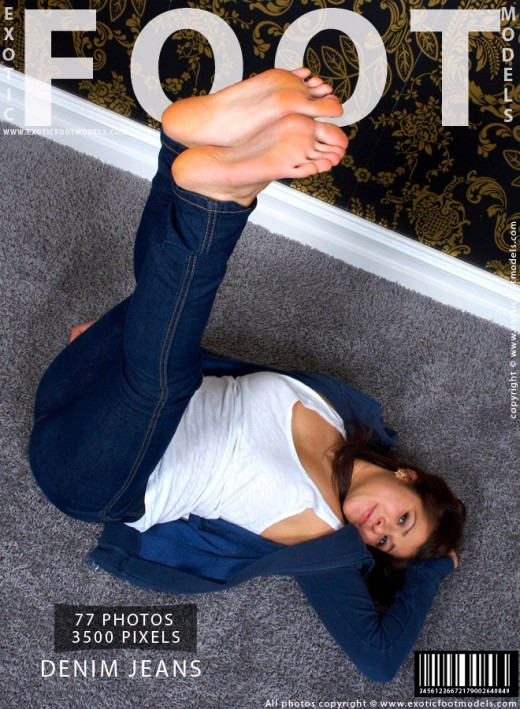 Isabelle - `Denim Jeans` - for EXOTICFOOTMODELS