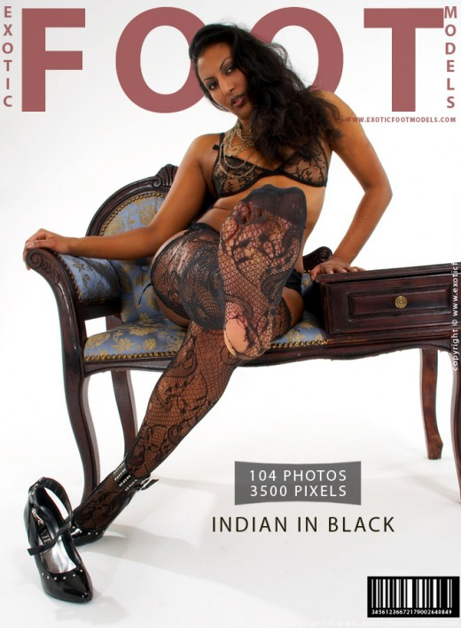 Cheetah - `Indian In Black` - for EXOTICFOOTMODELS