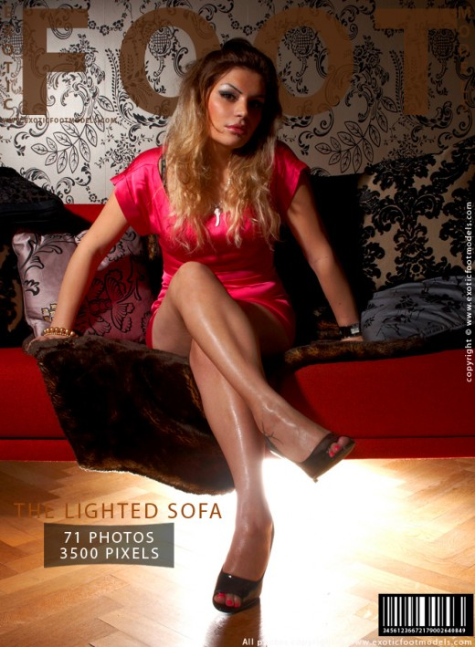 Niloofar - `The Lighted Sofa` - for EXOTICFOOTMODELS