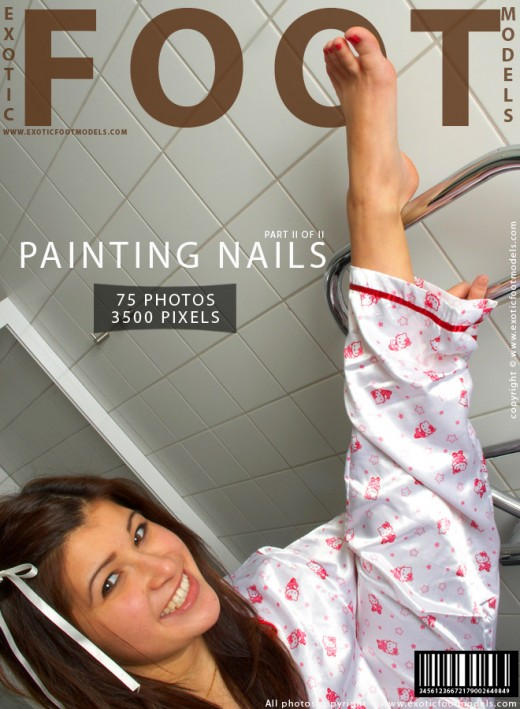 Isabelle - `Painting Nails - Part 2` - for EXOTICFOOTMODELS