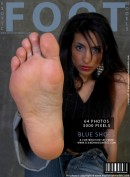 Nesrin in Blue Shoes gallery from EXOTICFOOTMODELS