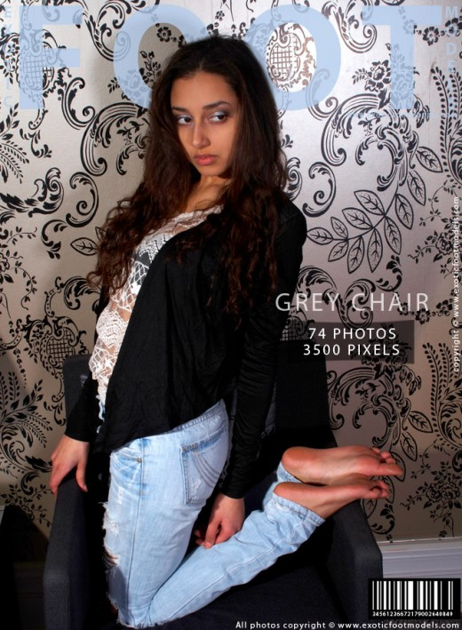 Elena - `Grey Chair` - for EXOTICFOOTMODELS