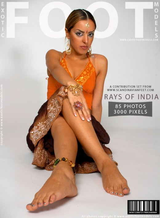 Amira - `Rays Of India` - for EXOTICFOOTMODELS