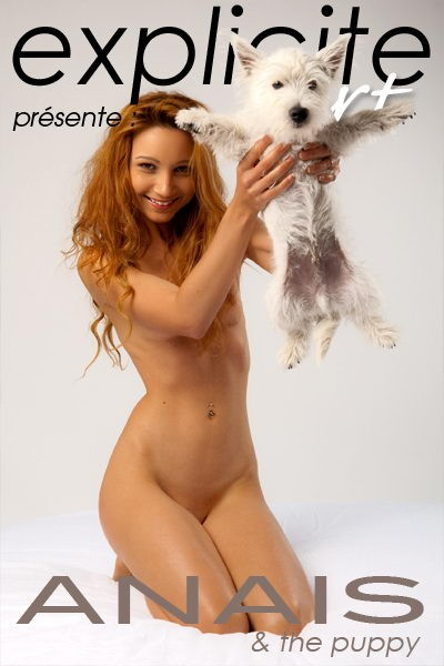 Anais de France - `And The Puppy` - by J.B. Root for EXPLICITE-ART