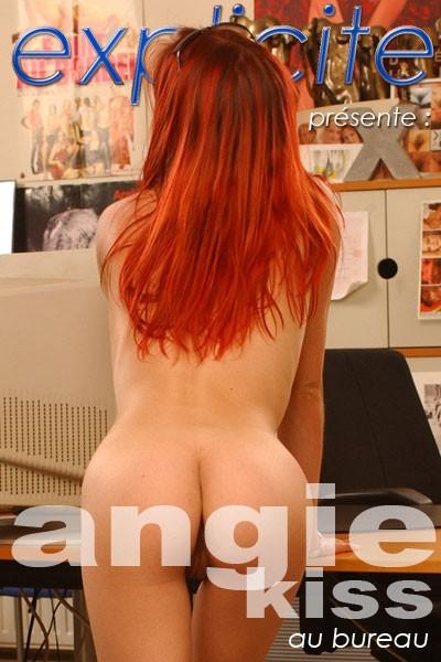 Angie Kiss - `Au Bureau` - by J.B. Root for EXPLICITE-ART