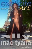 Ally Mac Tyana in Dans Paris video from EXPLICITE-ART by J.B. Root