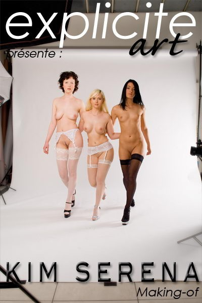 Kim Serena - `Making-of` - by J.B. Root for EXPLICITE-ART