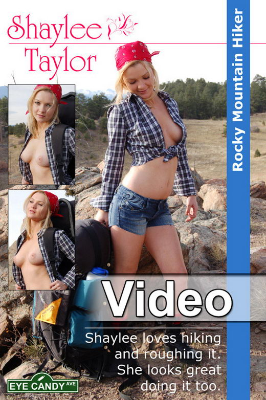 Shaylee Taylor - `#116 - Rocky Mountain Hiker` - for EYECANDYAVENUE ARCHIVES