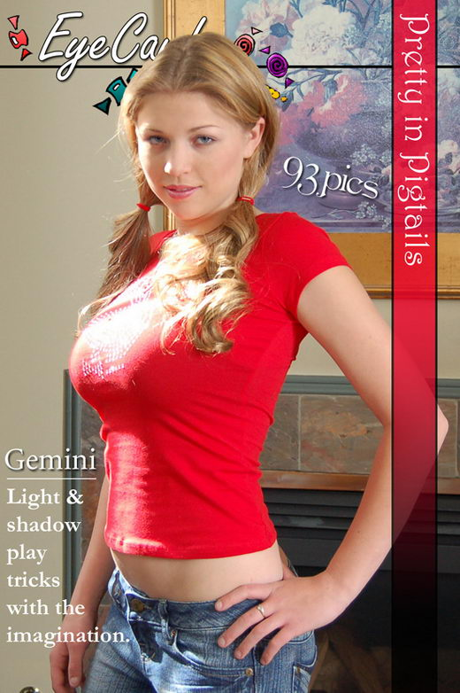 Gemini - `#120 - Pretty in Pigtails` - for EYECANDYAVENUE ARCHIVES
