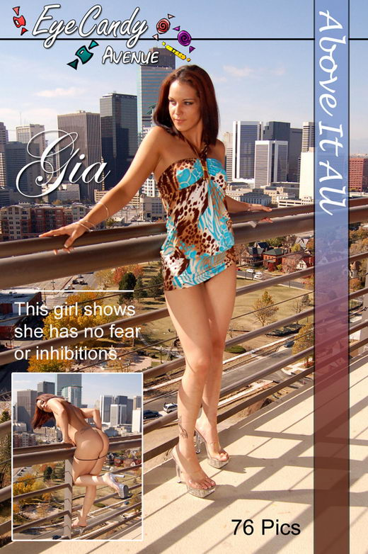 Gia - `#121 - Above It All` - for EYECANDYAVENUE ARCHIVES