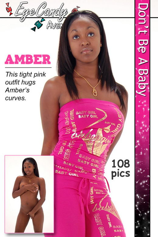 Amber - `#125 - Dont be a Baby` - for EYECANDYAVENUE ARCHIVES