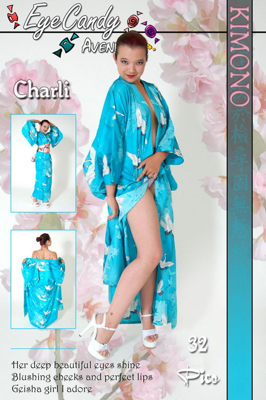 Charli - `#132 - Kimono` - for EYECANDYAVENUE ARCHIVES
