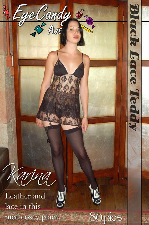 Gemini - `#173 - Black Lace Teddy` - for EYECANDYAVENUE ARCHIVES
