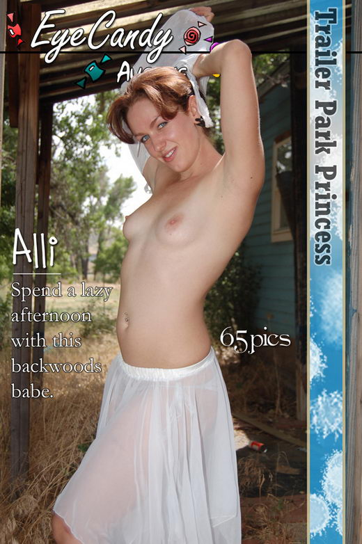 Alli - `#174 - Trailer Park Princess` - for EYECANDYAVENUE ARCHIVES
