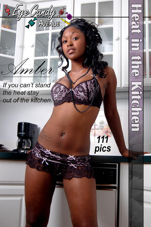 Amber - `#181 - Heat in the Kitchen` - for EYECANDYAVENUE ARCHIVES