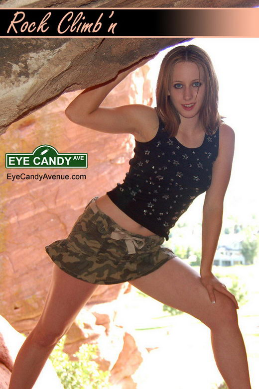 Laura - `#045 - Rock Climbin` - for EYECANDYAVENUE ARCHIVES